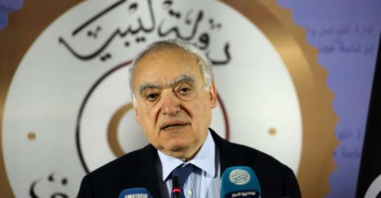 UN envoy Ghassan Salame has bitterly denounced the conflict in Libya, warning the country is committing suicide and squandering its oil wealth.  By Mahmud TURKIA (AFP/File)