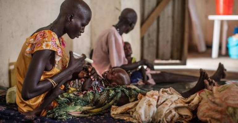 Over half South Sudan's 12 million people need aid, according to the United Nations.  By Nichole Sobecki (AFP/File)