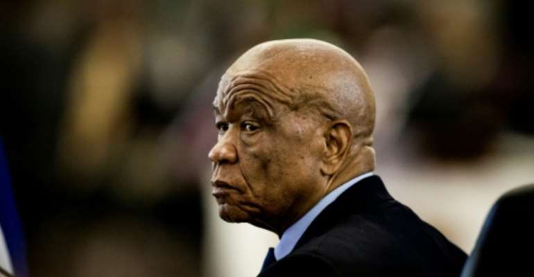 Under pressure: Prime Minister Thomas Thabane.  By GULSHAN KHAN (AFP)