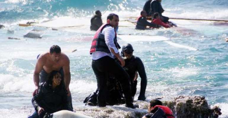 More than 1,750 migrants have perished trying to cross the Mediterranean Sea since the start of the year, according to the International Organization for Migration.  By Argiris Mantikos (Eurokinissi/AFP)