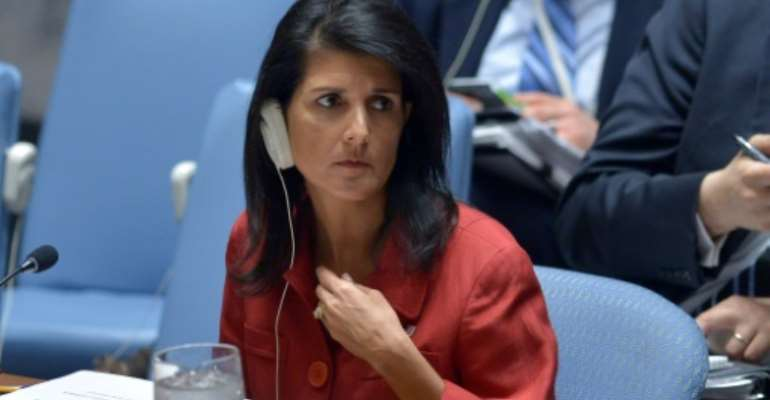 US Ambassador to the United Nations, Nikki Haley, wants a special investigation into murders of two UN experts in the Democratic Republic of Congo.  By Jewel SAMAD (AFP/File)