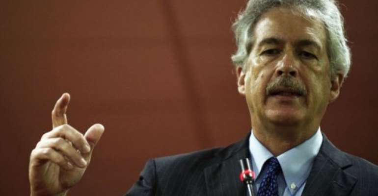 Burns hailed the elections in Libya as