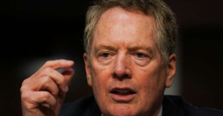 US Trade Representative Robert Lighthizer.  By POOL (GETTY IMAGES NORTH AMERICA/AFP)