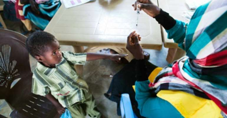 Vaccines against meningitus have been available for more than 40 years.  By ALBERT GONZALEZ FARRAN (UNAMID/AFP/File)