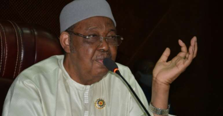 Veteran politician Haroun Kabadi has been named speaker of the interim parliament, whose members were designated last month by Chad's ruling junta.  By Djimet WICHE (AFP)