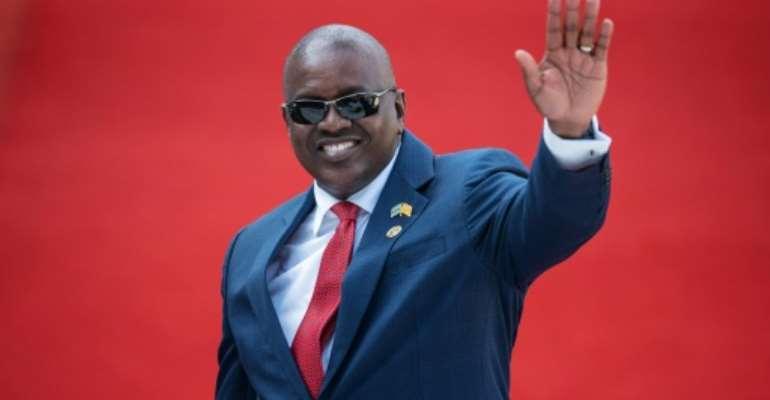 Victor: President Mokgweetsi Masisi.  By Michele Spatari (AFP/File)