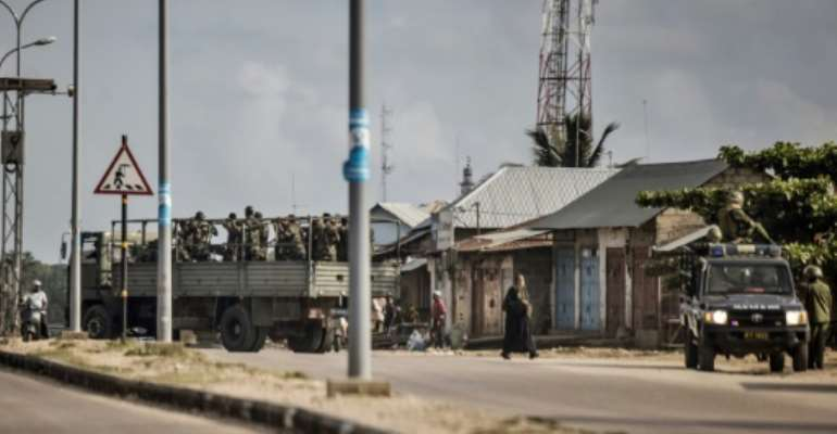 Violence erupted Monday night on Zanzibar's Pemba, an opposition bastion.  By MARCO LONGARI (AFP)