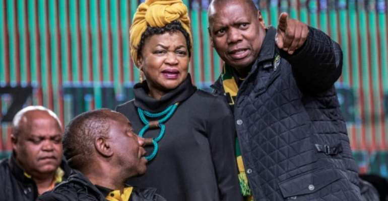With South Africa's ruling ANC split by bitter divisions over who to elect as their next leader, could party treasurer Zweli Mkhize point the way forward?.  By GIANLUIGI GUERCIA (AFP/File)
