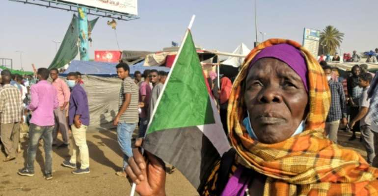 Women have been at the forefront of the demonstrations in Sudan.  By - (AFP)