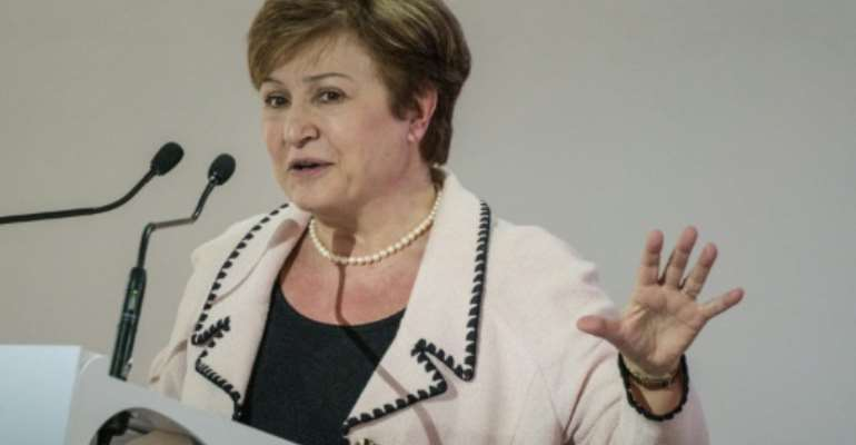 World Bank CEO Kristalina Georgieva says abolishing the myriad of obstacles for African women to become entrepreneurs must be a priority on a continent where poverty continues to grow.  By Yasuyoshi CHIBA (AFP)