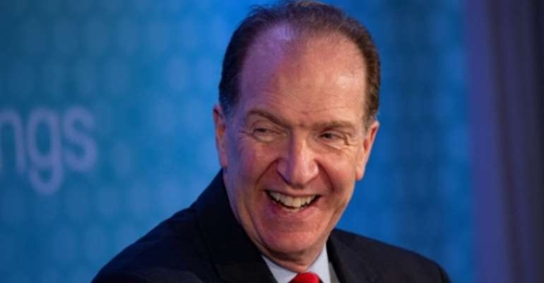 World Bank President David Malpass said African countries stand to reap huge economic benefits from a free trade agreement set to take effect next year.  By Eric BARADAT (AFP)