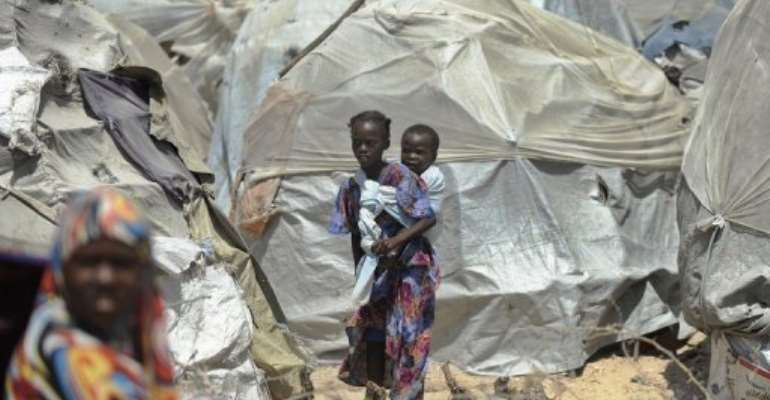Famine zones have improved but despite massive international aid efforts, conditions remain grim.  By Tony Karumba (AFP/File)