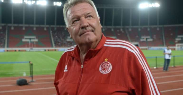 Wydad reacted to an unexpectedly heavy loss to Zamalek in the CAF Champions League semi-final first-leg by firing coach John Toshack one day later.  By Fadel Senna (AFP/File)