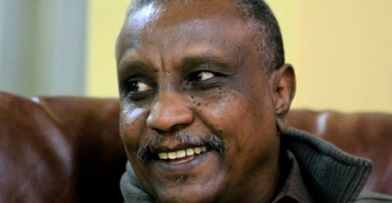 Yasir Arman, deputy chief of the rebel Sudan People's Liberation Movement-North.  By ASHRAF SHAZLY (AFP)
