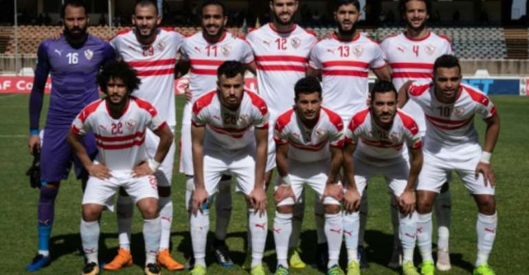Zamalek of Egypt are seeking a first CAF title since lifting the 2003 Super Cup.  By Yasuyoshi CHIBA (AFP)
