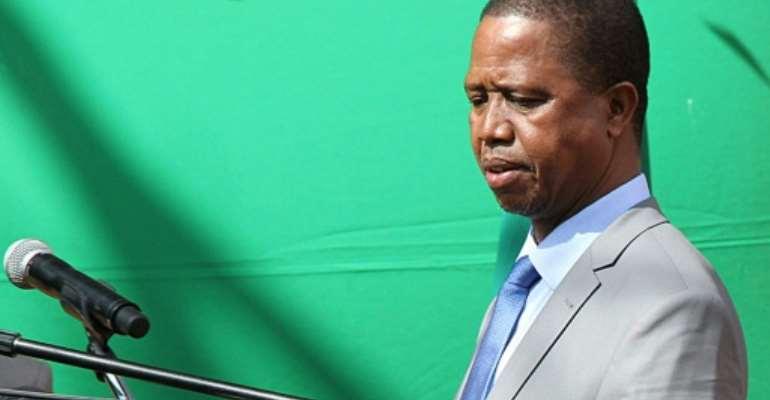 Zambian President Edgar Lungu has promised a crackdown on street food stalls, bars and restaurants that do not meet minimum food hygiene standards.  By DAWOOD SALIM (AFP/File)
