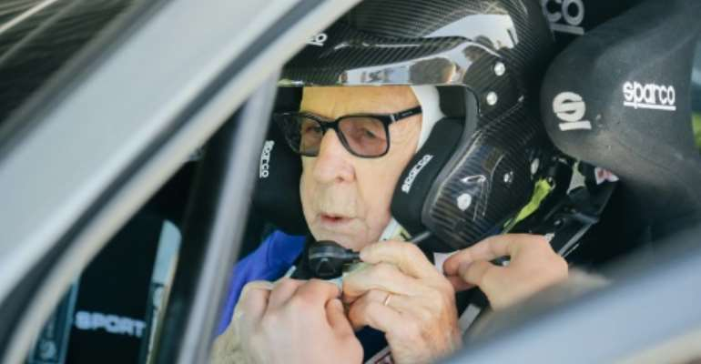 Zasada says he is raring to go for the Safari Rally Kenya where the 91-year-old will taken on rivals almost 70 years his junior.  By JANEK ZDZARSKI (ZASADA GROUP/AFP)