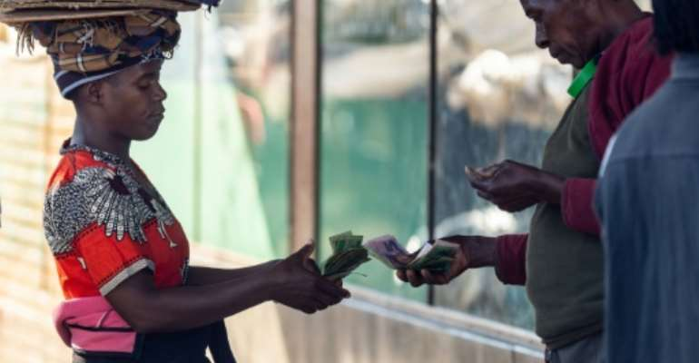 Zimbabwe has been reintroducing its own currency since February 2019.  By ZINYANGE AUNTONY (AFP/File)