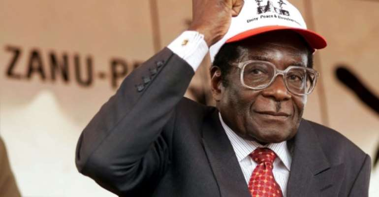Zimbabwe's Robert Mugabe was in power for 37 years, but is far from the only African leader to have ruled for so long.  By Odd ANDERSEN (AFP/File)