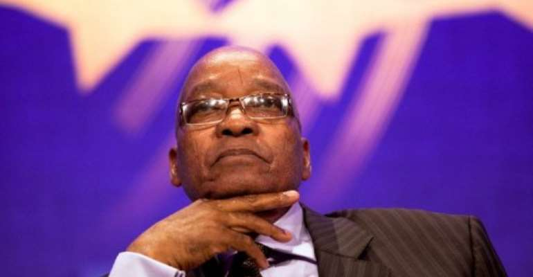 South African President Jacob Zuma.  By Daniel Berehulak (AFP/Getty Images/File)