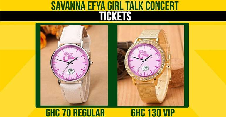 Efya Girl Talk Concert 'Watch Tickets' Out For Sale
