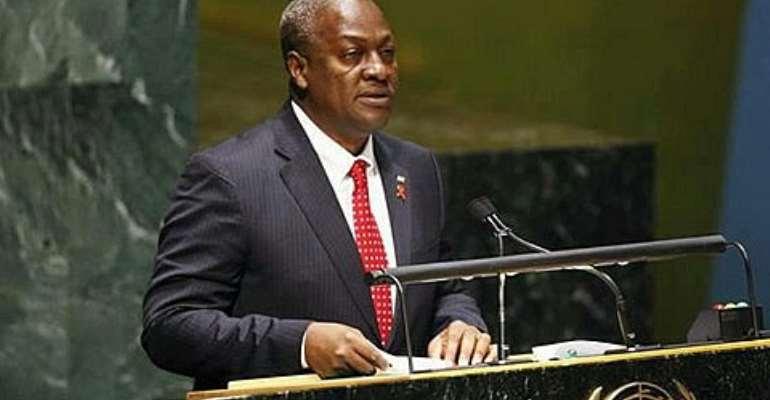 Ebola to dominate President Mahama's UN address today