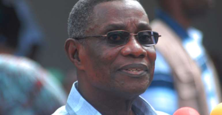 Mourners at KEEA pay last respects to Prof Atta-Mills