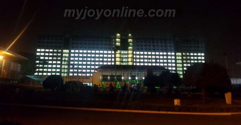 Photo of the week: Dumsor edition: Conservation? Tell that to Parliamentarians