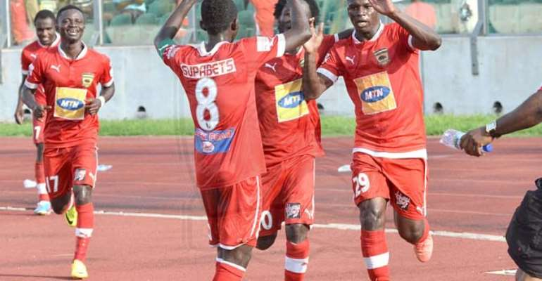 Ahmed Toure scored the only goal for Kotoko