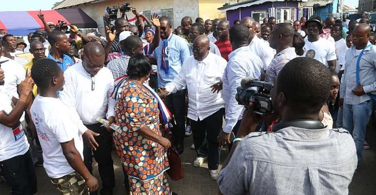 Reject NDC's empty promises – Nana Addo