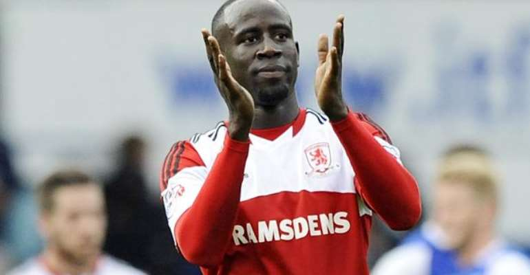 2014 World Cup: Albert Adomah sets a goal for Middlesbrough in victory over Barnsley