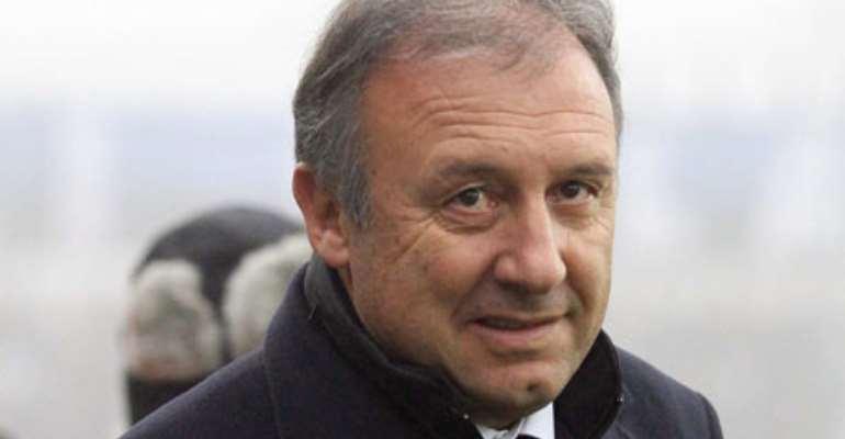 Japan coach Alberto Zaccheroni