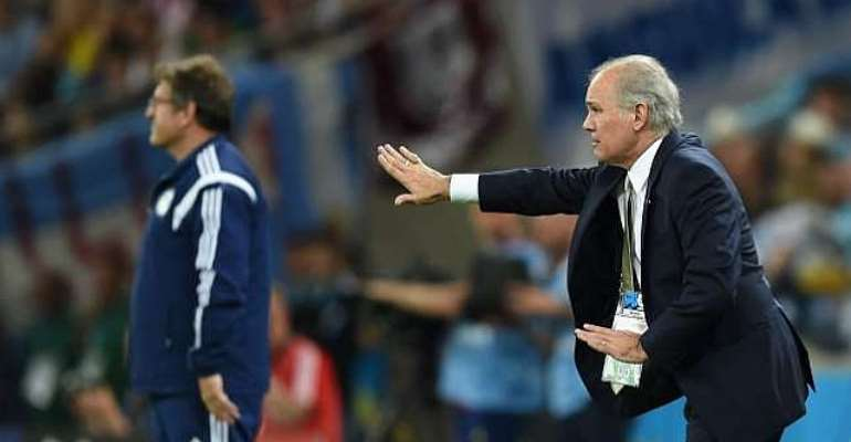 Purring with joy: Alejandro Sabella satisfied with Argentina win