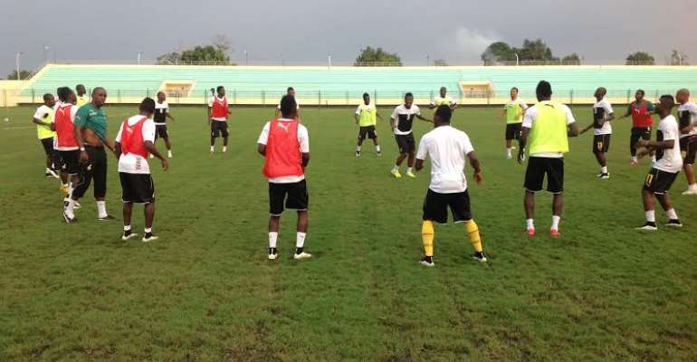 Ghana in clean bill of health as all players train ahead of South Africa clash