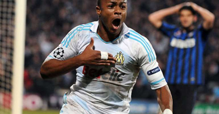 Loss: Andre Ayew's Marseille flawed in Nantes