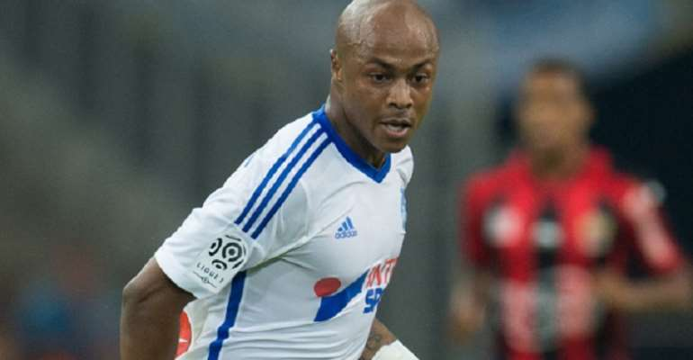 Andre Ayew is out of contract at Marseille in June