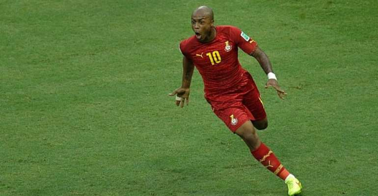Benni McCarthy hails 'brave' Andre Ayew after South Africa win