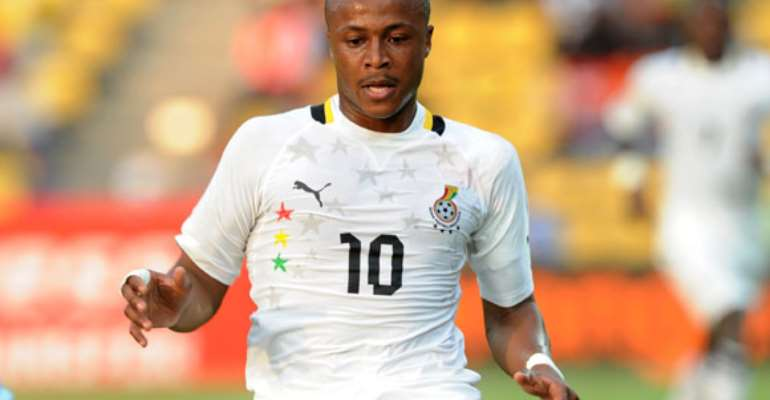 Breaking News: Essien Dropped From Ghana's Starting Line-up To Face Zambia, Ayew Starts
