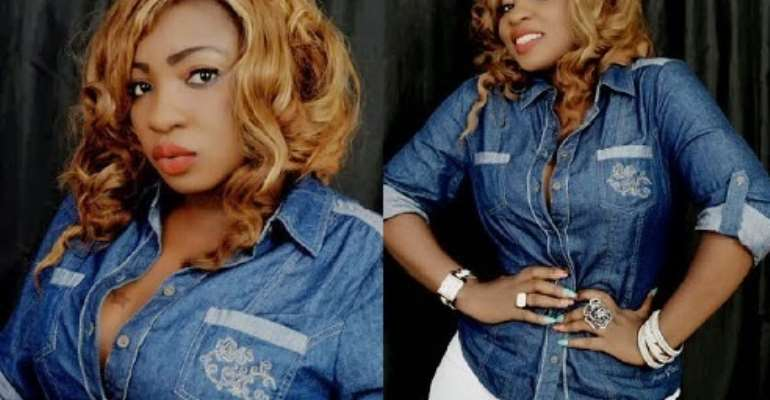 Quit Show Business and Marry me- Nollywood actress Anita Joseph fiance puts her on Hot Sit