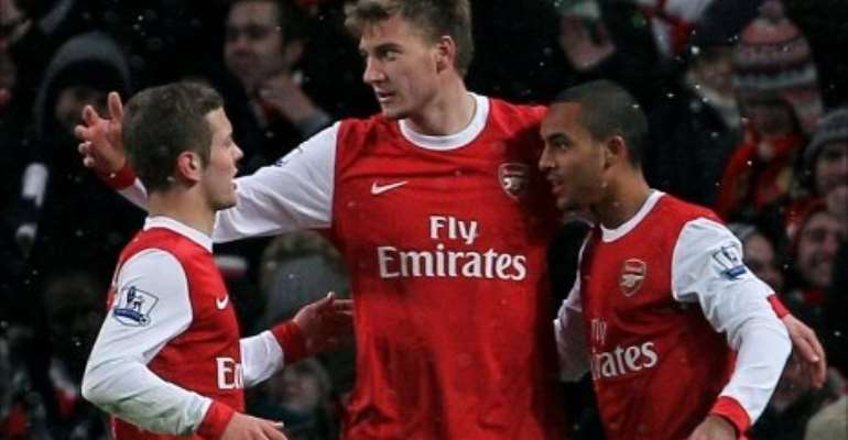 It was a comfortable victory as Arsenal reached the last four