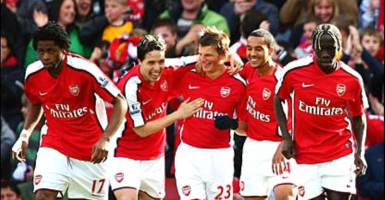Arsenal 4-0 Blackburn