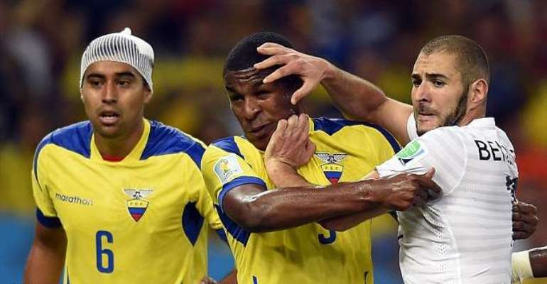 2014 World Cup: France unbeaten, Ecuador ousted