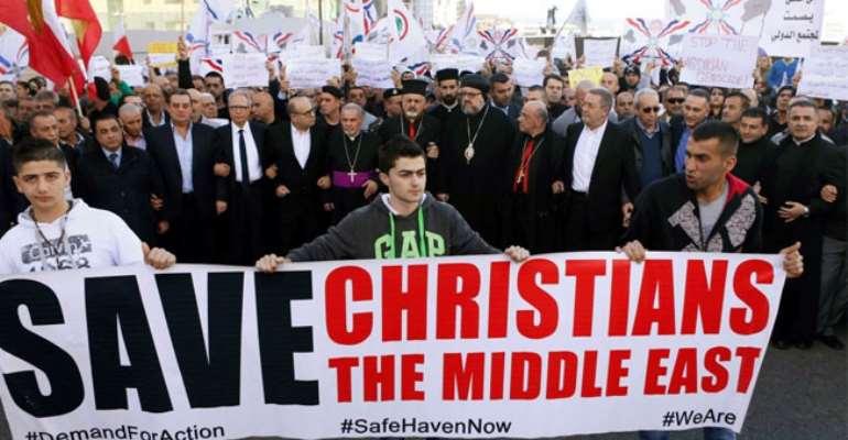 assyrian christian Photo: Reuters/Mohamed Azakir