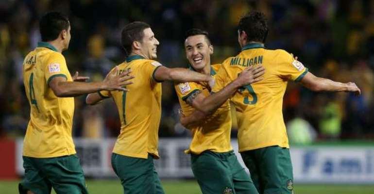 Grand finale: Australia beat the UAE 2-0 to reach Asian Cup final