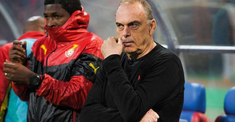 Ghana coach Avram Grant is being considered for the Chelsea job