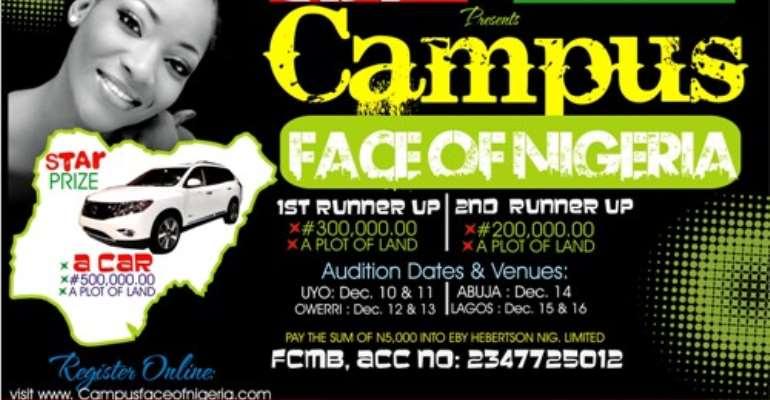 Registration Begins For Campus Face Of Nigeria