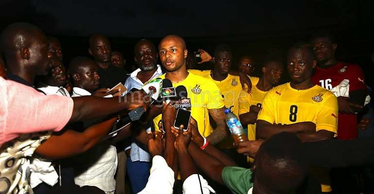 Andre Ayew bemoans lack of interest in Black Stars games, pleads for the love to return