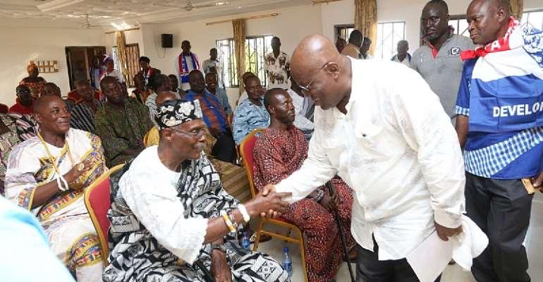 A Mismanaged Economy Affects Every Tribe – Nana Addo