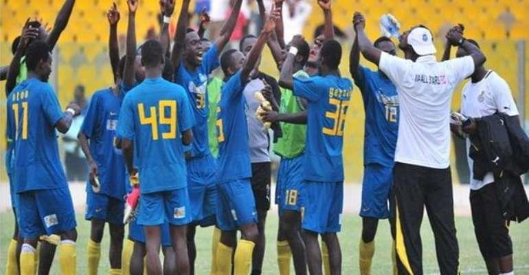 Match Report: All Stars clobber Kotoko to delay championship triumph