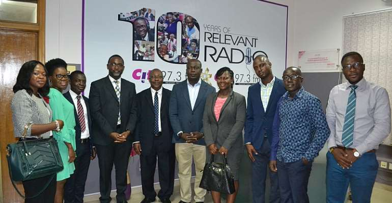 NDK Financial Services management call on Citi FM